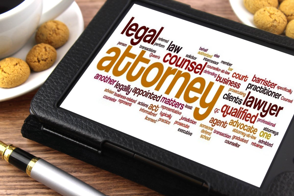 attorney buzzword tablet