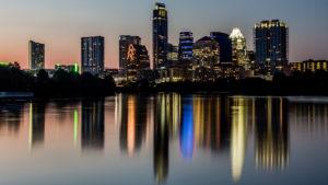 Austin texas Evening