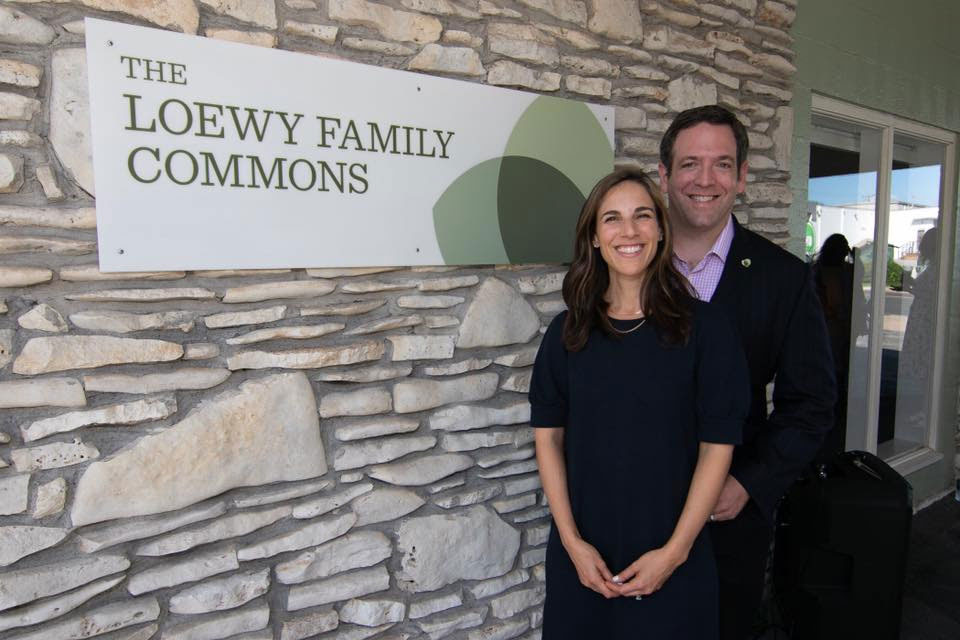 Loewy Family Commons Dedication