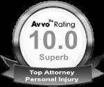 Austin Personal Injury Avvo 10.0