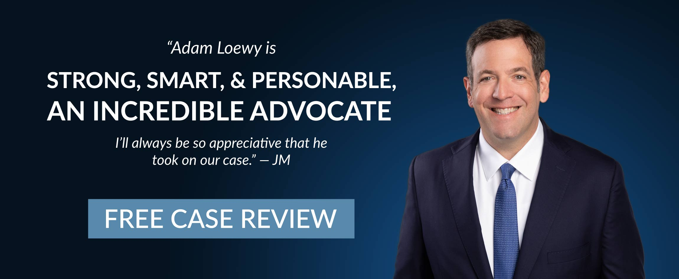Adam Loewy Personal Injury Lawyer