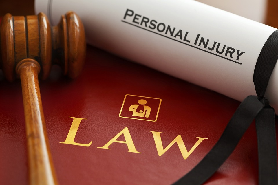 personal injury lawyer scroll